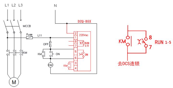 plc信号的识别电路图